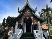 Buddyjska ` s świątynia w Bangkok zdjęcie stock