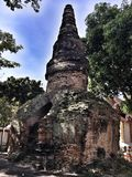 Buddyjska ` s świątynia w Bangkok obraz royalty free