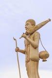 buddyjska statua Obraz Royalty Free