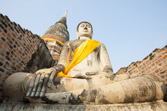 Buddyjska statua Zdjęcia Royalty Free