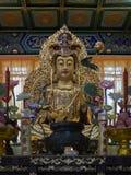 Buddyjska statua w Zhanshan świątyni, Qingdao Obrazy Stock