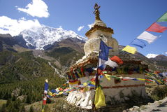Buddyjska stupa, Nepal Obrazy Stock