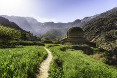 Buddyjska stupa Pakistan Fotografia Stock