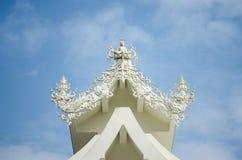 Buddyjska sztuki praca Wat Rong Khun obraz royalty free
