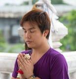 Buddyjska wiara Obraz Royalty Free
