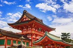 Buddyjska świątynia przy Fushimi Inari świątynią w Kyoto Obraz Stock