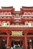 Buddyjska świątynia w Singapur Zdjęcia Stock