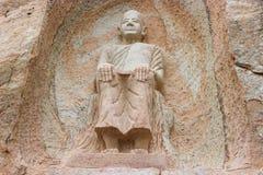 Buddyjski świątobliwy statuaryczny zdjęcie royalty free