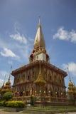 buddyjski chalong stupy wat Zdjęcia Royalty Free