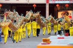 Buddyjski cześć i robienie religijnej zasłudze Zdjęcia Stock