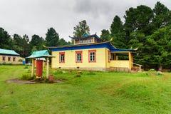Buddyjski datsan Bodhidharma w Arshan Rosja Obrazy Stock