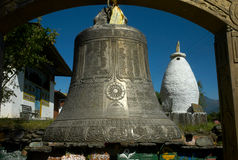 Buddyjski dzwonkowy Tashiding Zdjęcie Royalty Free