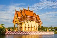 buddyjski kościół zdjęcie stock