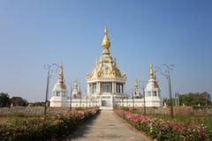 Buddyjski kościół Wata Thung milioner w Khon Kaen prowinci zdjęcie stock