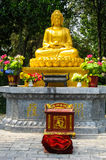Buddyjski kobiety modlenie Obrazy Royalty Free