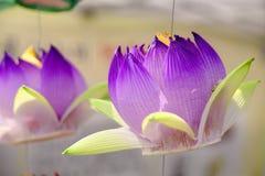 Buddyjski lampion zdjęcia stock