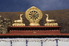 Buddyjski Mandala Tybet - Drepung Monaster - Obrazy Stock