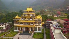 Buddyjski monaster, Kathmandu dolina Nepal, Październik, - 16, 2017 zbiory