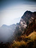 Buddyjski monaster Mt Emei, Chiny Fotografia Royalty Free