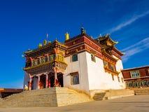 Buddyjski monaster przy Dege w Sichuan Zdjęcie Royalty Free