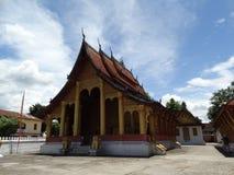 Buddyjski monaster w Luang Prabang, Laos Obrazy Royalty Free
