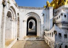Buddyjski monaster w shanu stanie, Myanmar Fotografia Royalty Free
