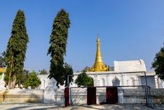 Buddyjski monaster w shanu stanie, Myanmar Obraz Royalty Free
