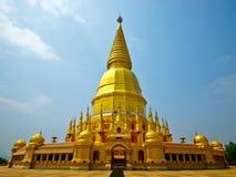 buddyjski północny pagodowy Thailand Zdjęcie Stock