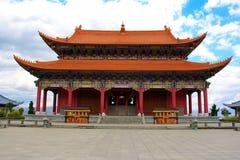 Buddyjski pawilon w Chongshen monasterze. Obrazy Stock