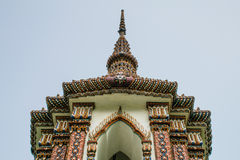 Buddyjski pawilon w drewnach Zdjęcia Royalty Free