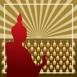 Buddyjski tło Zdjęcie Royalty Free