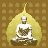 Buddyjski tło Zdjęcie Stock