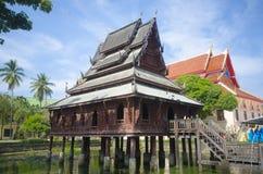 Buddyjski Wat lub, Ubon Ratch Obraz Stock