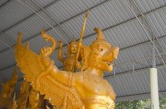 Buddyjski świeczka wosk Obrazy Royalty Free
