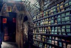 Buddyjskie świątynie w Macau obraz stock