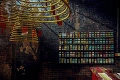 Buddyjskie świątynie w Macau zdjęcie stock