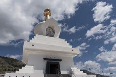Buddyjskie świątynie lokalizować w Hiszpania, świątynia Benalmadena w Malaga obrazy stock