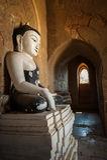 Buddyjskie świątynie przy Bagan królestwem, Myanmar (Birma) Obrazy Royalty Free