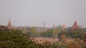 Buddyjskie świątynie w Bagan, Myanmar zbiory wideo