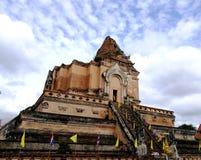 Buddyjskie pagody w Chiang Mai fotografia royalty free