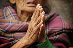 Buddyjskie ręki Zdjęcie Stock