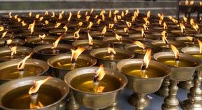 Buddyjskie religijne rzeczy zdjęcia royalty free