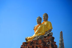 buddyjskie statuy obraz royalty free