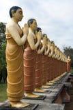 buddyjskiego michaelita statuy Fotografia Royalty Free