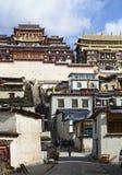 buddyjskiego monasteru tibetan Zdjęcia Stock