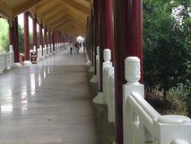 Buddyjskiego monasteru wejście Zdjęcia Royalty Free