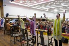 Buddysty koncert Obrazy Stock