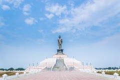 Buddysty park w północnym wschodzie Phutthamonthon Fotografia Royalty Free