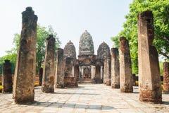 Buddyzm świątyni ruiny zdjęcia royalty free