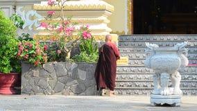 Buddyzm magdalenka w pagodzie w Hoi zbiory